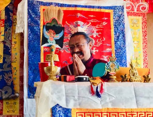 Teachings of H.E Khenchen Lama Rinpoche in Slovenia