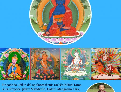 Medicine Buddha and Four Roots Empowerment